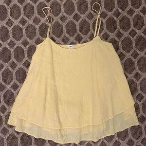 Nordstrom BP yellow tank top